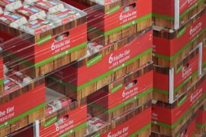 Foto: Eier in Verpackungen für Handel
