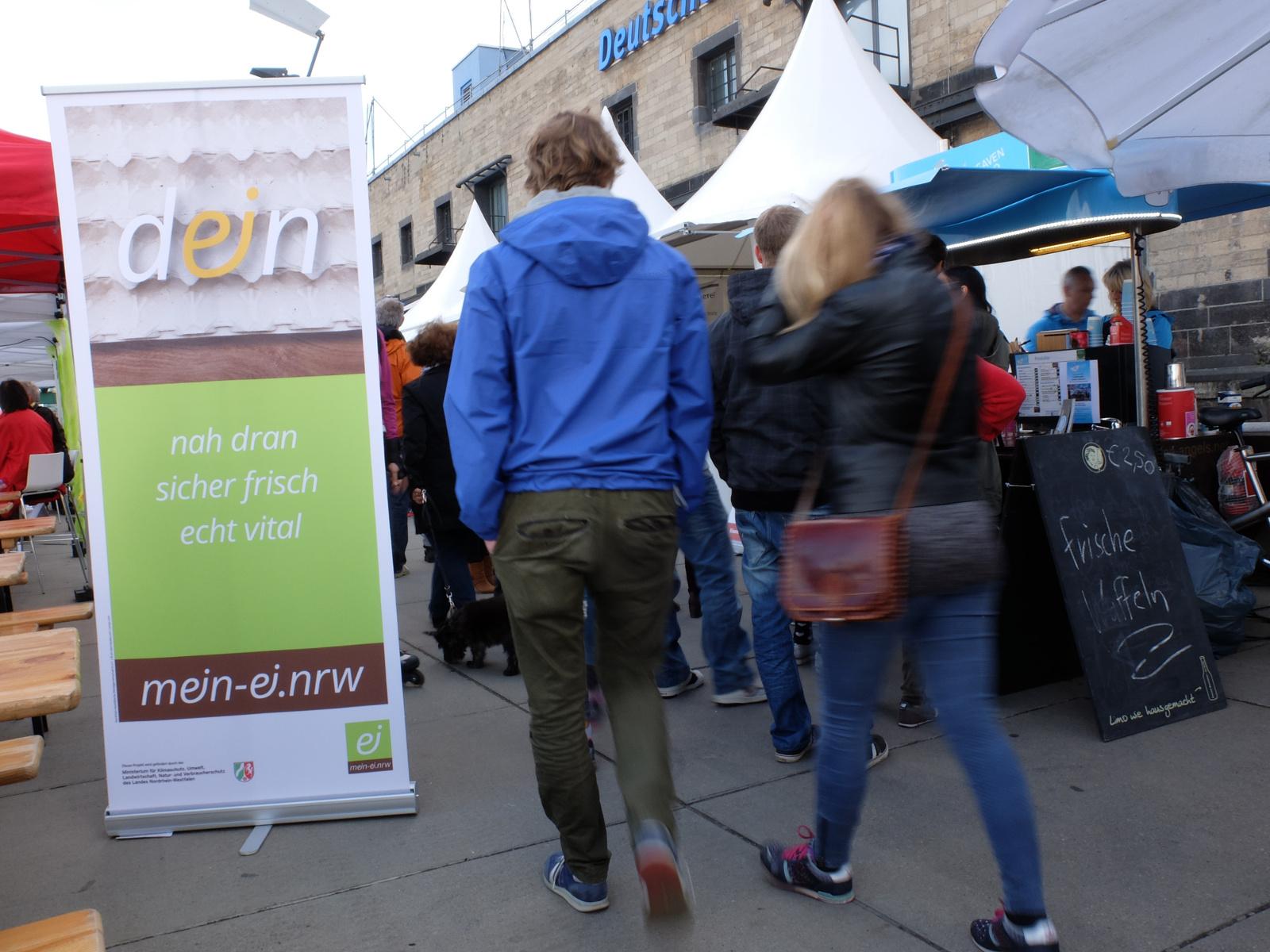 Foto: mein-ei.nrw auf dem Festival der Genüsse Köln