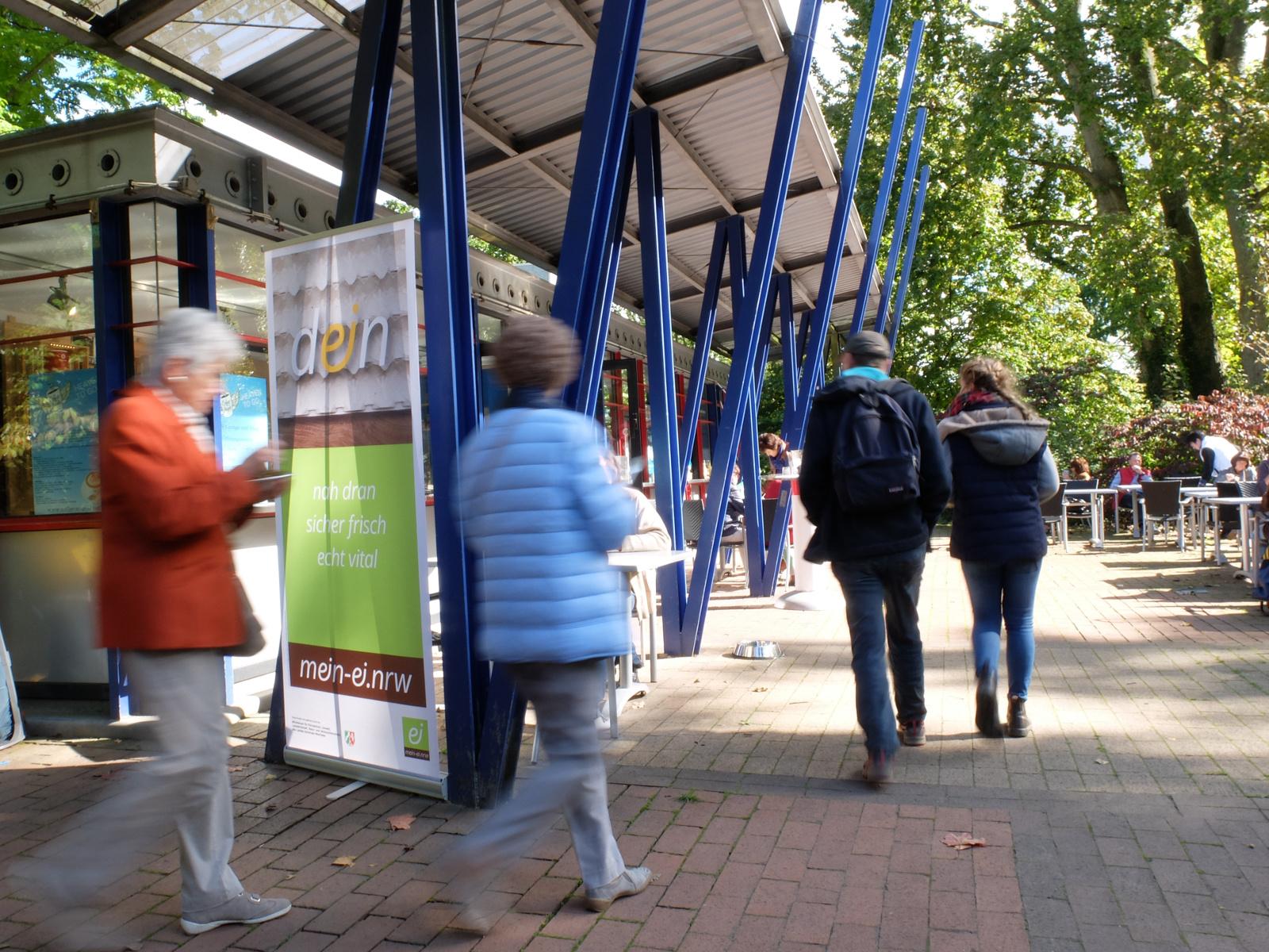 Foto: mein-ei.nrw auf dem Dortmunder Herbstmarkt