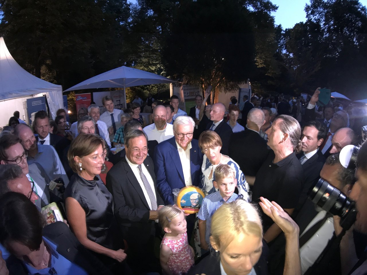 "Foto: Bundespräsident Frank-Walter Steinmeier bei ""Genuss aus NRW"" (Foto: Jörg Meyer | jumpr.com)"