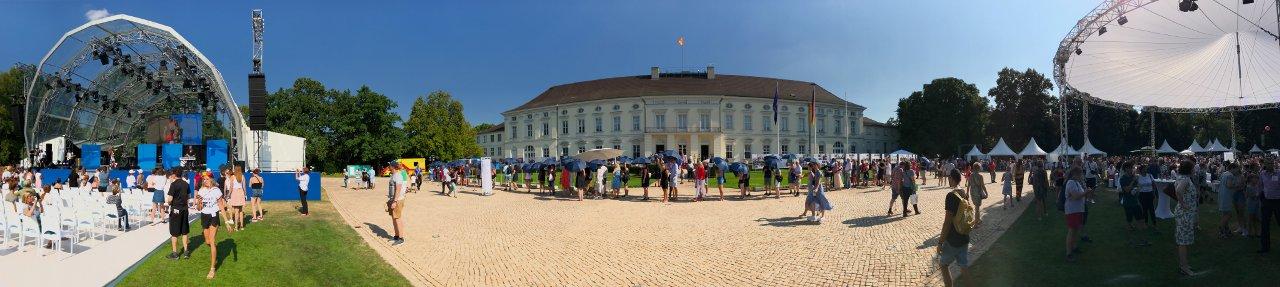 Foto: Bürgerfest des Bundespräsidenten 2019 (Foto: Jörg Meyer | jumpr.com)