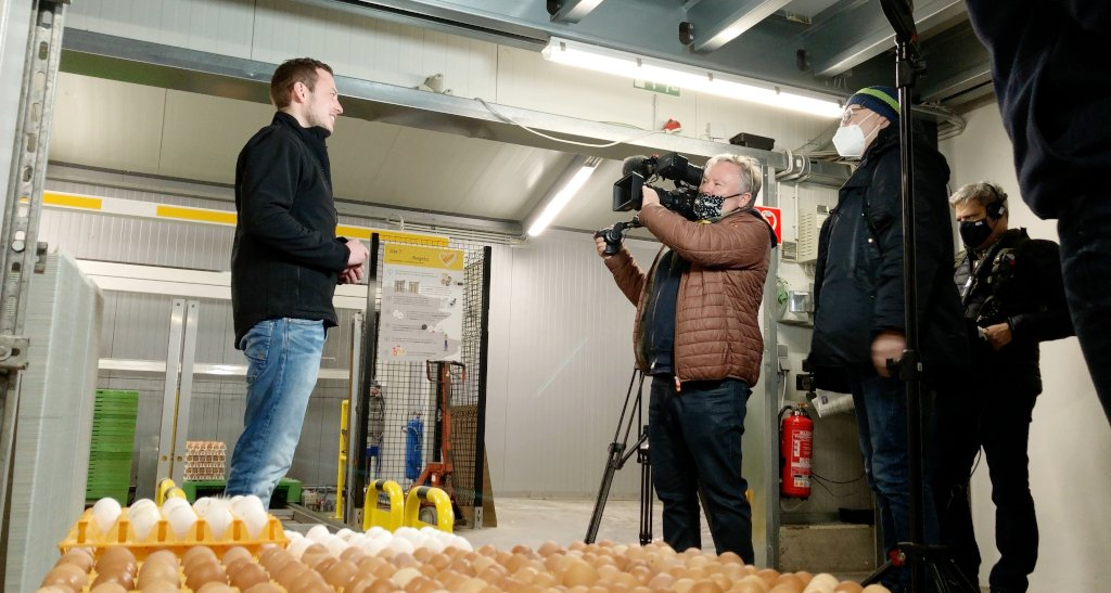 Foto: Dreharbeiten WDR Quarks (Copyright: Jörg Meyer | jumpr.com)